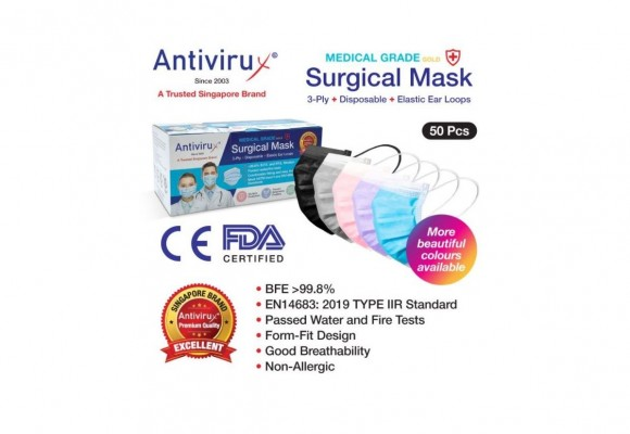 Check out our Made in Singapore Surgical Face Masks!